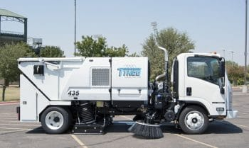Tymco 435 Cabover Street and Parking Lot Sweeper